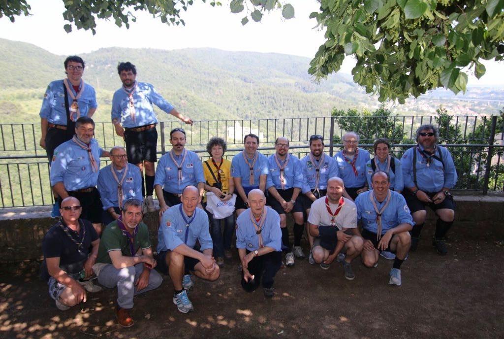 Partecipanti riunione Basi scout
